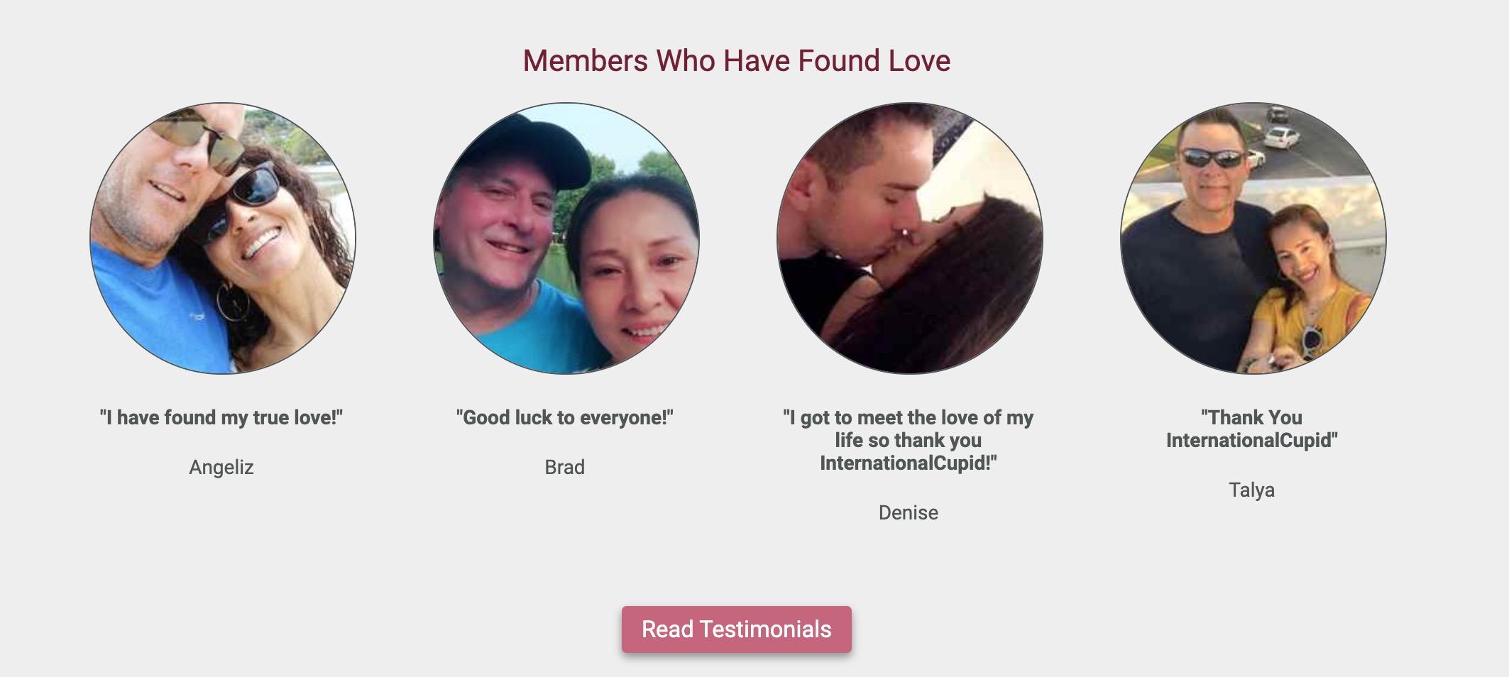 InternationalCupid happy couples